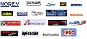 Les fabricants de voitures miniatures
