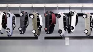 La chute des ventes de voitures miniatures